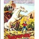 Snowfire The Wild White Stallion - DVD  1958 - Don Megowan, Molly McGowan  (MOD)