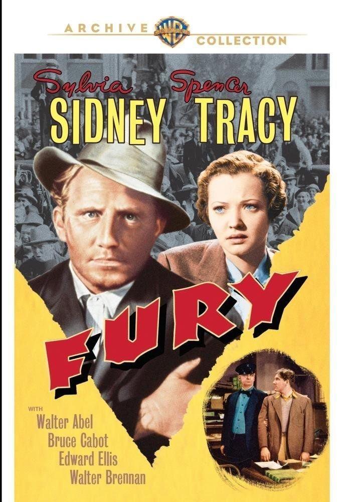 Fury - DVD - 1936 Sylvia Sidney, Spencer Tracy, Walter Abel, Bruce Cabot (MOD)