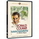 Arrowsmith - 1931 - DVD - Ronald Coleman, Helen Hayes - All New 2014 Release!!