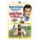 Something of Value - DVD - 1957 - Rock Hudson, Dana Wynter, Sidney Poitier (MOD)
