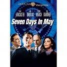 Seven Days in May - DVD - 1964 - Burt Lancaster, Kirk Douglas, Fredric March MOD