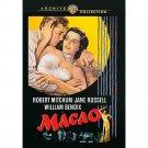 Macao - DVD - 1952 - Robert Mitchum, Jane Russell, William Bendix (MOD)