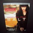 SALT  - DVD - Unrated Deluxe Edition -  Angelina Jolie - Liev Schreiber  MINT!!