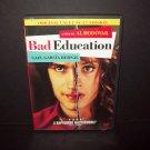 Bad Education - DVD - Original Uncut Version - Gail Garcia Bernal