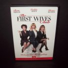 The First Wives Club - DVD - Bette Midley - Goldie Hawn - Diane Keaton  MINT!