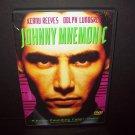 Johnny Mnemonic - DVD - Keanu Reeves - Dolph Lundgren - MINT DISC!