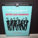 Better Luck Tomorrow - DVD - 2003 - John Cho, Aaron Takahashi, Parry Shen