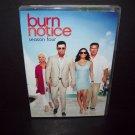 Burn Notice Season Four - DVD Set - Jeffrey Donovan - Bruce Campbell