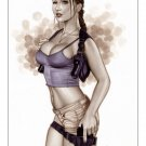 Lara Croft Tomb Raider  Bw#506 - Fantasy Pinup Girl Print