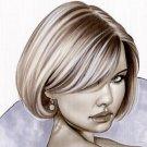 Power Hot Girl Bw#905 - Fantasy Pinup Girl Print