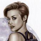 Sabrina Tomb Raider  Dw#008 - Fantasy Pinup Girl Print