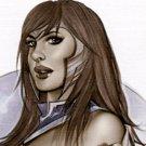 Wonderous Woman  Dw#088 - Fantasy Pinup Girl Print