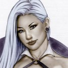 Vampire Girl Dw#136 - Pinup Girl Print
