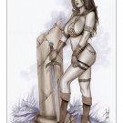Red Sonja Dw#150 - Fantasy Pinup Girl Prints