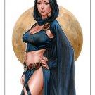 Hot Raven Dw#479 - Fantasy Pinup Girl Prints