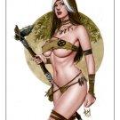Hot Savage Rogue Dw#487 - X-men Fantasy Pinup Girl Prints