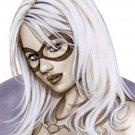 Hot harley Quinn  Dw#186 - Fantasy Pinup Girl Print