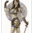 Hot Red Sonja  Dw#574  Sexy Warrior  Fantasy Pinup Girl Prints