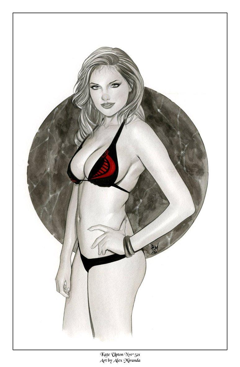 Kate Baroness G.I. Joe   Nw#521 - Fantasy Pinup Girl Prints