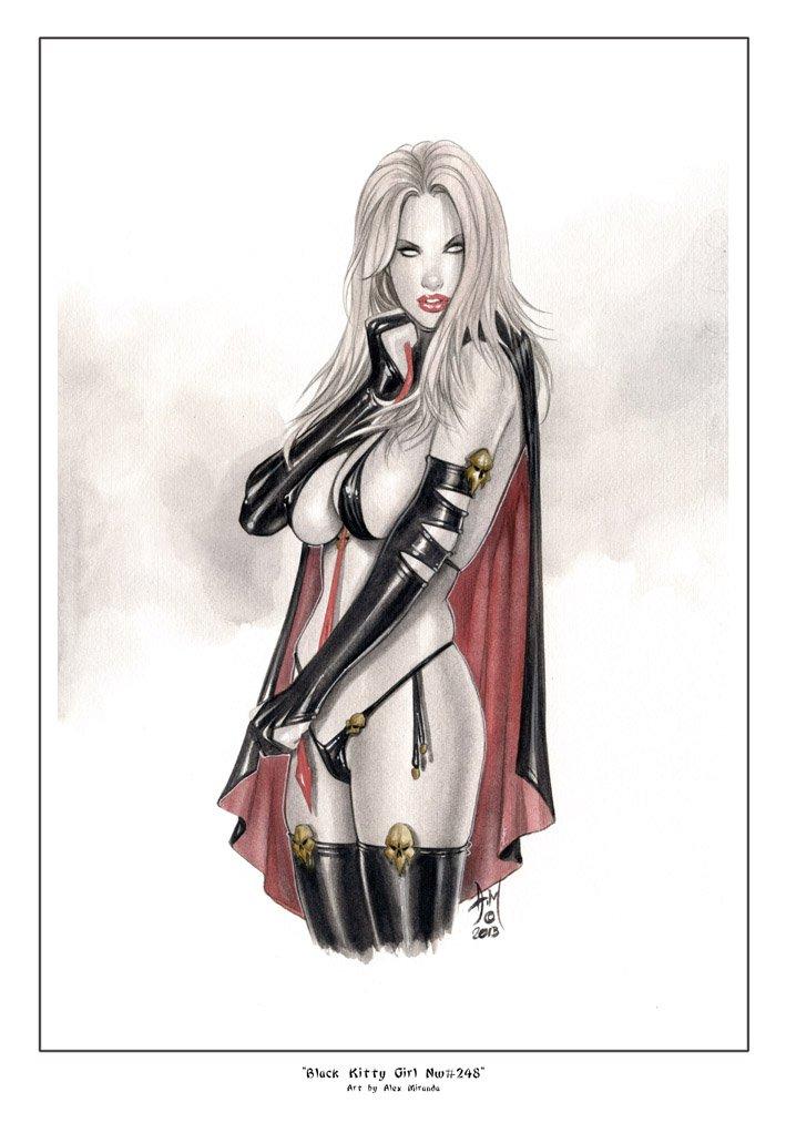 Devil Lady Nw#239 - Fantasy Pinup Girl Prints