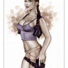 Hot Lara Croft Tomb Raider BW#506 - Fantasy Pinup Girl Print
