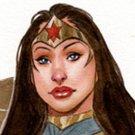 Hot Wonderous Woman Dw#225 - Fantasy Pinup Girl Print