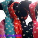 Pokka dot headband