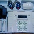 GSM home alarm LCD text & diagram SMS & voice 32 wireless 8 wired zones wholesale
