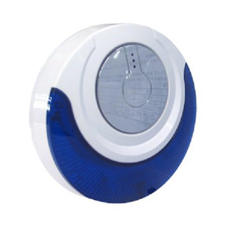Focus Wireless Siren with sound and flash light