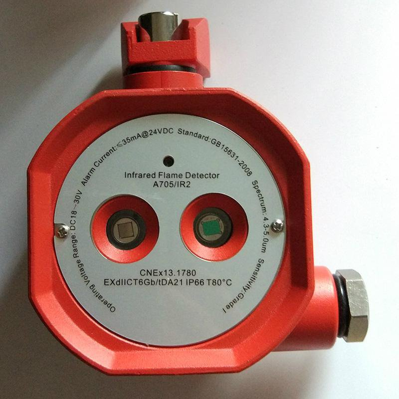 Explosion Proof Dual IR Flame Detector relay output