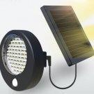Solar power motion light courtyard lighting