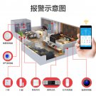 Integrated security HIFI alarm home monitor system
