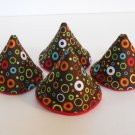 Pee Wee Tinkle Tents / Diaper Bag Accessory / Boy Baby Shower Gift / COLORFUL CIRCLES