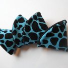 Pee Wee Tinkle Tents / Diaper Bag Accessory / Boy Baby Shower Gift / Set of 4 / BLUE GIRAFFE