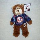 "10"" NEW YORK YANKEES MLB ©2010 by Good Stuff Plush Bear Fans"