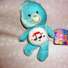 "11"" CARE BEARS ™©2006 HEARTSONG BEAR™ BY NANCO® Collectible Plush Stuffed Toy"