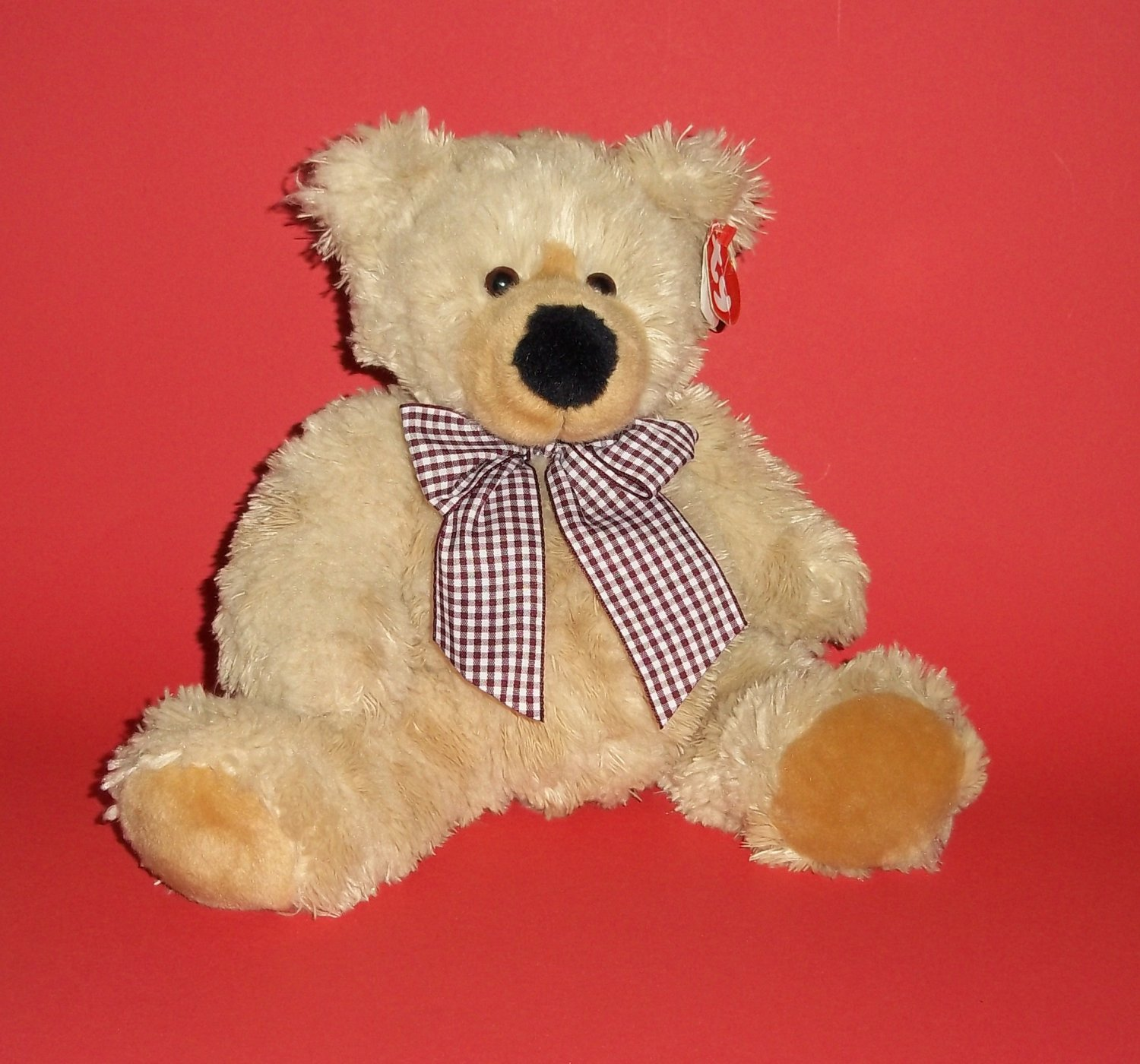 2005 Teddy Bear  Plush Soft Cuddly Toy Classic Ty©  Boudreaux� 12""