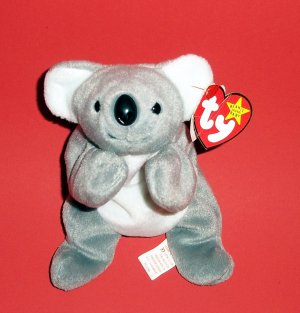 """1996 The Beanie Babies Collection Mel� 8"""" P.V.C Pellets Stuffed Plush by Ty®"""