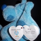Blue Dog Plush Stuffed Ty 2005 4.5 inches  Original Beanie Babies Collection®