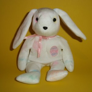 2002 Easter Rabbit Beanie Babies Ty Plush Stuffed Color Me