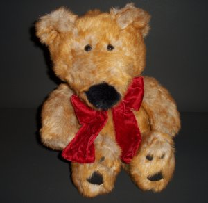 "Plush Dan Dee� Teddy Bear Collector's Choice® 12"" seated position Soft P.V.C."