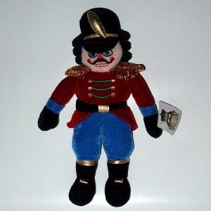 "11"" Nutcracker Soldier 2006 Soft Plush Stuffed Toy"