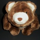 "Rare Snuffles Soft Bear Gund Plush 9"" Brown  Made in China 64  Cuddly"