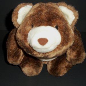 "Rare Snuffles Soft Bear Gund Plush 9"" Brown  Made in China 64  Cuddly"