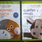 2 DVD Set para niños de 1-5. Canciones de Cuna & Cantos y Rimas