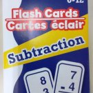 Flash Cards (Subtraction) Ages 0 -12