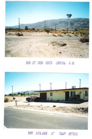 Huge Lot 29 Palms S/W Cor Foothill/Araby