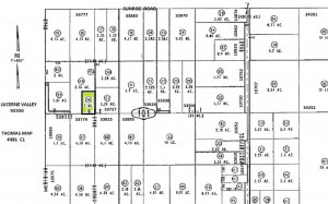 One Acre on Sunset Road, Lucerne Valley SOLD
