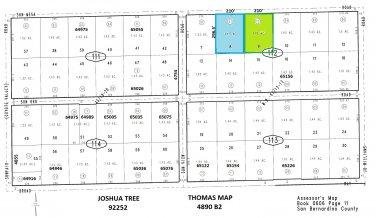 1.43 Acres Sun Mesa Road, Sunfair Area, Joshua Tree