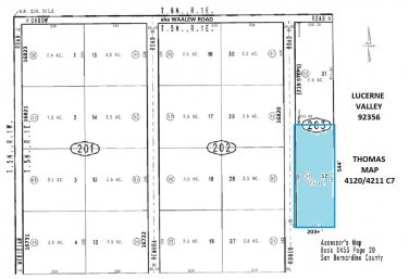 2.5 Acres Rodeo Rd near Waalew Rd, Lucerne Valley